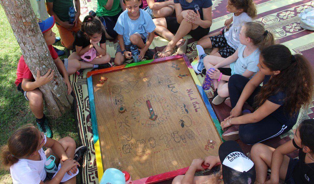 משחקי עץ גדולים - פעילות מהנה במיוחד ליום הולדת