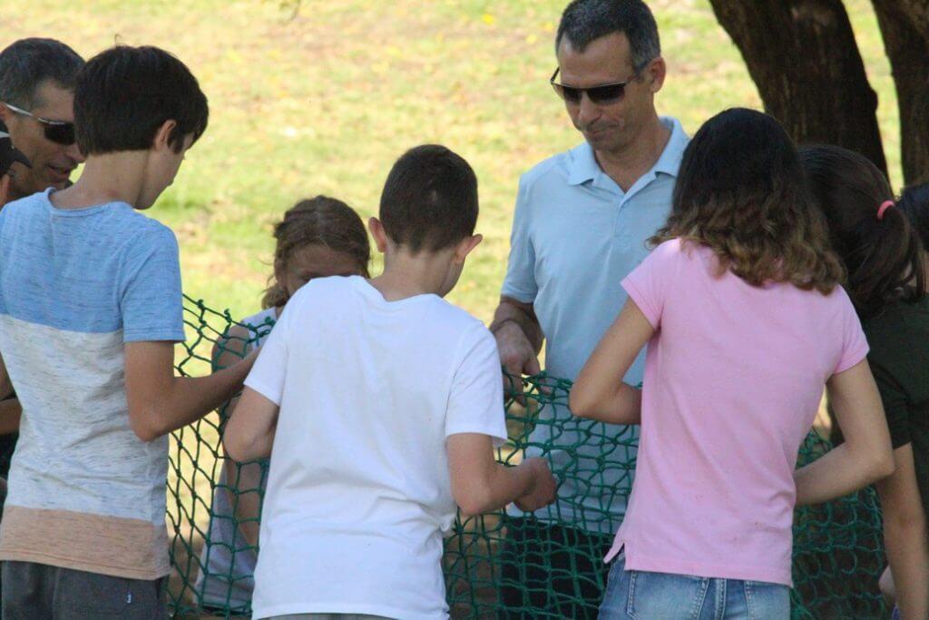 פעילות ODT מגבשת לכיתה ז בהדרכת ההורים